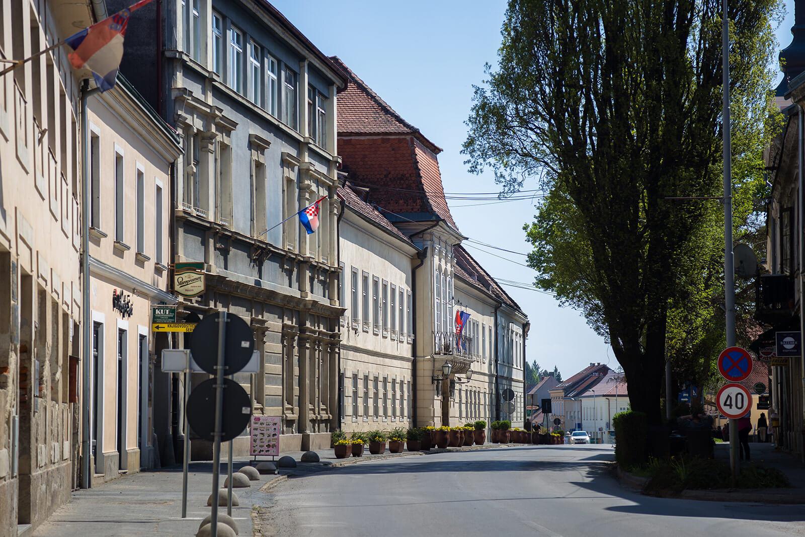 Županijska palača Križevci
