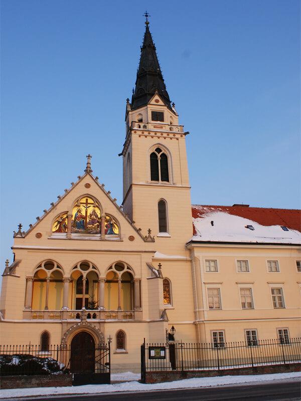 Grkokatolička katedrala Presvete Trojice i biskupska rezidencija